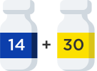 New Patient Pack pill bottle icon